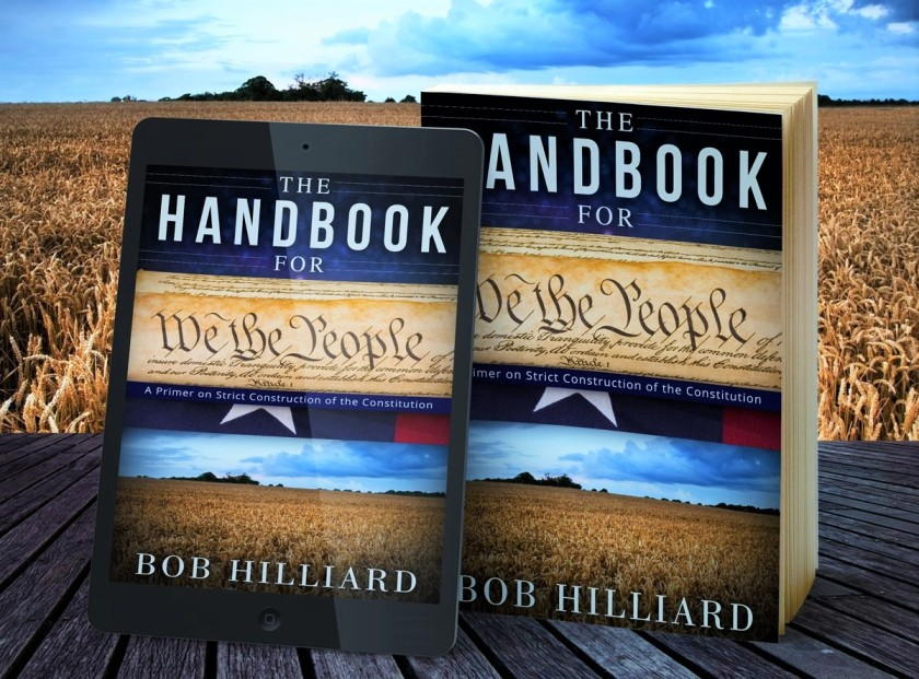 View of We the People Handbook, in paperback and tablet formats
